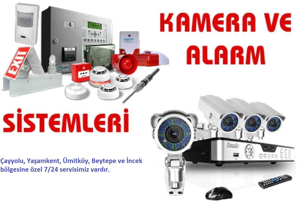 Çayyolu Kamera Alarm Sistemleri