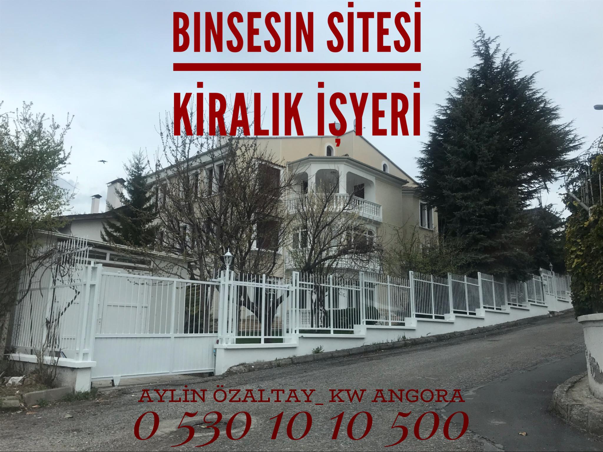 Ümitköy Binsesin Sitesinde KW M.Aylin ÖZALTAY'dan Kiralık Köşe Villa
