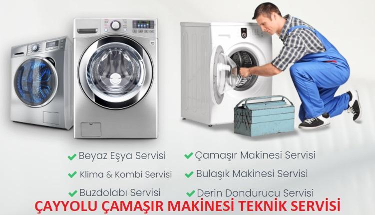 Çayyolu Çamaşır Makinesi Teknik Servisi