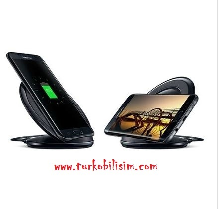 Samsung Galaxy S6 S8 S7 Note 8 Kablosuz Hızlı Şarj Aleti